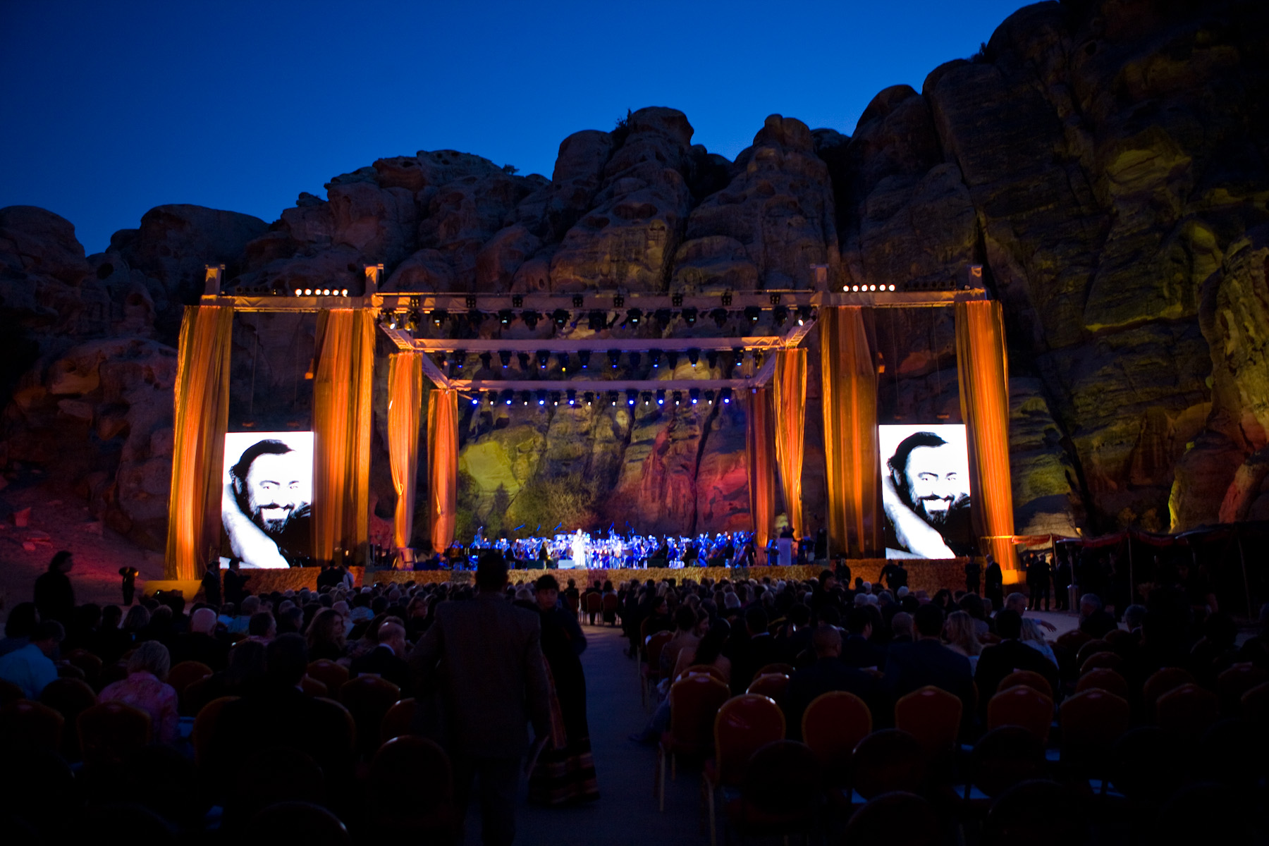 Concert and Memorial | Petra, UNESCO site (Jordan)