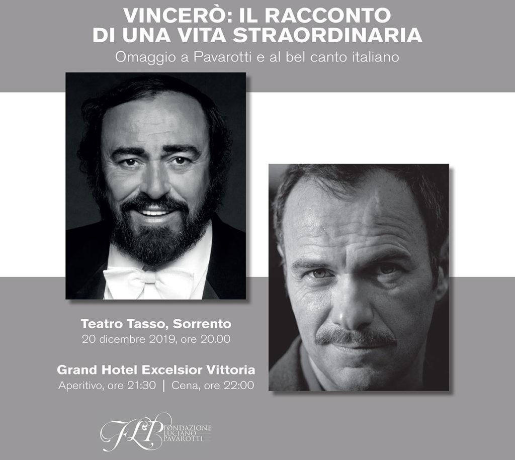 Sorrento celebrates Luciano Pavarotti: Vincerò | Sorrento, Italy